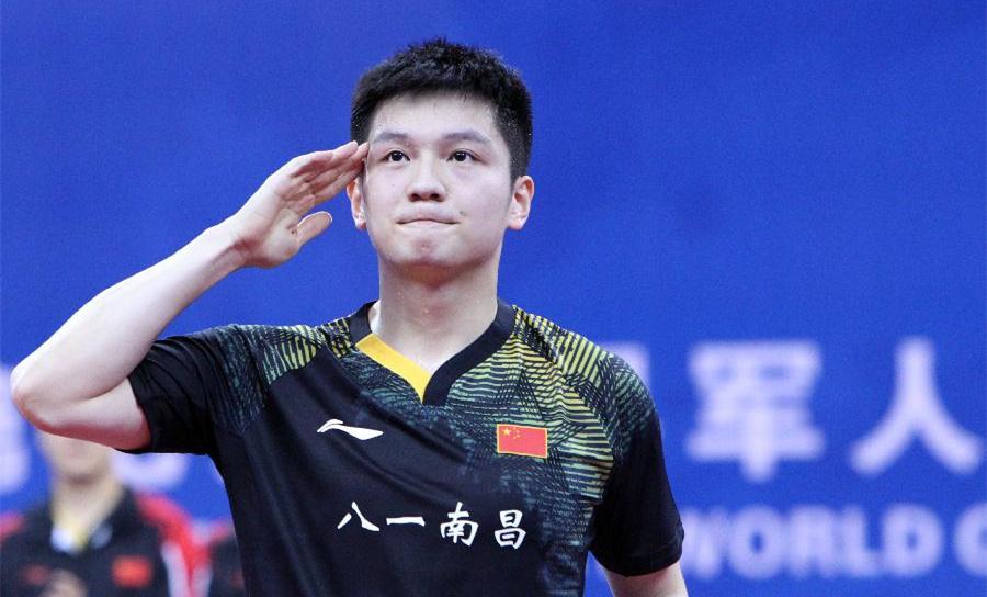 """樊振東談軍運會乒乓球""""首金"""":冠軍是團隊共同努力的結果"""