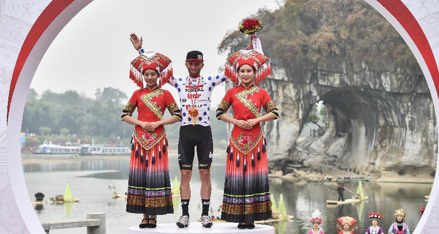 环广西公路自行车世界巡回赛收官