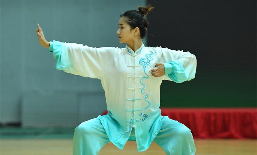 2019年京津冀健身氣功社會體育指導員交流展示大賽開賽