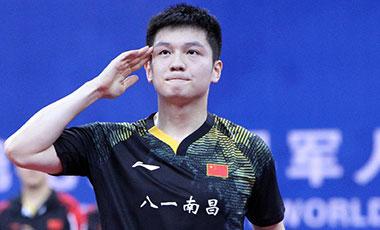 """要保持領先就得不斷給自己""""找別扭""""——專訪八一乒乓球隊主教練王濤和隊員樊振東"""