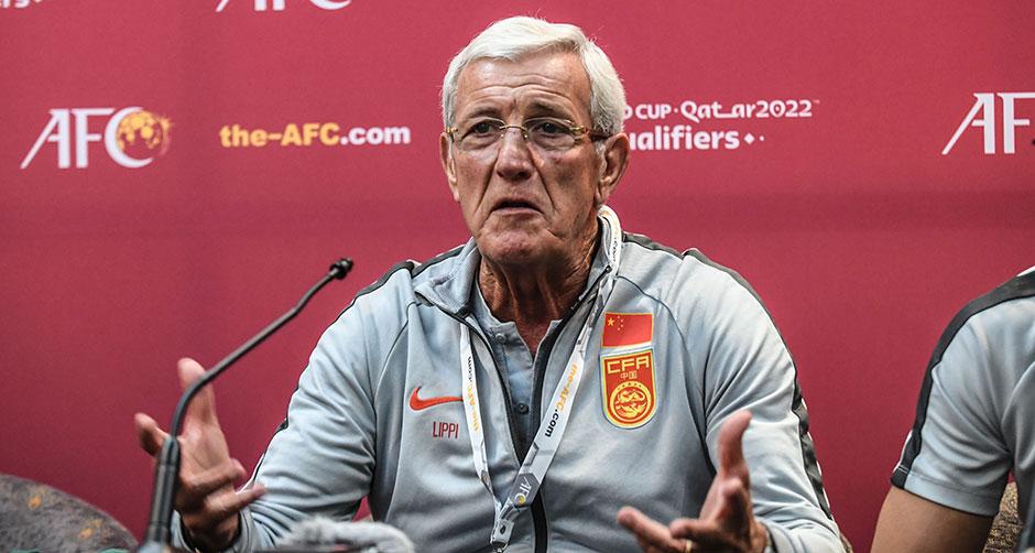 世预赛:里皮宣布辞去中国男足主教练职务