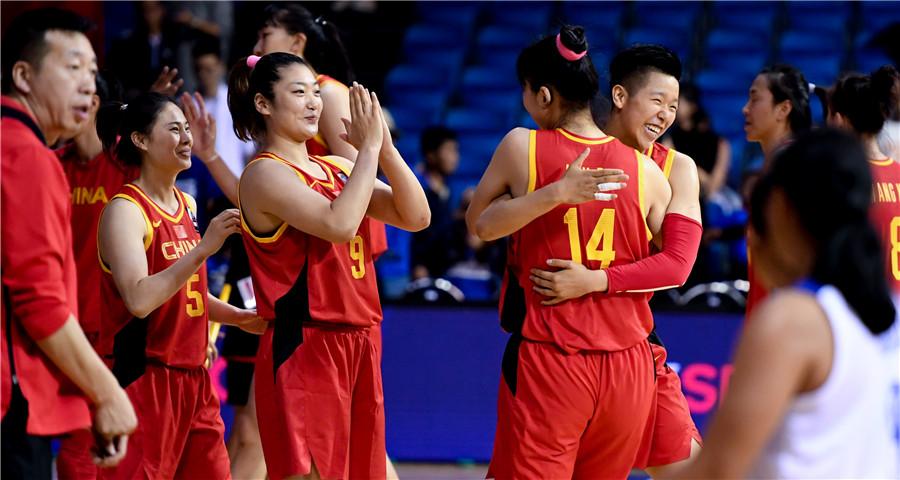 篮球——女篮东京奥运会资格赛亚大区预赛:中国轻取菲律宾晋级
