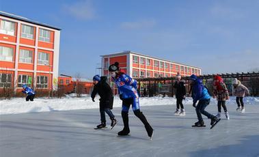 全民健身——零下三十度 一起來滑冰