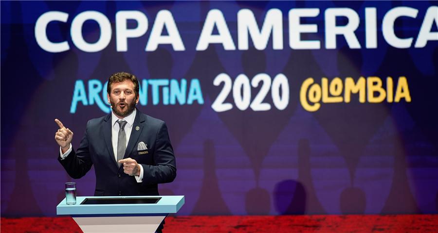 2020年美洲杯分组敲定
