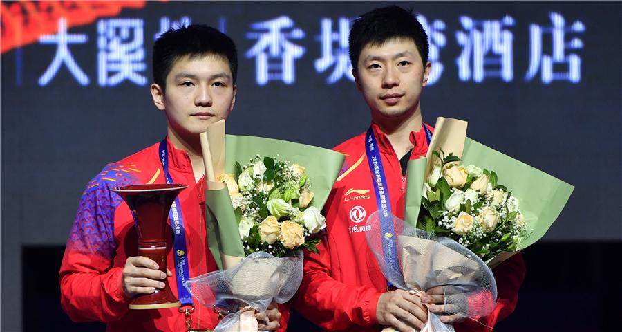 乒乓球世界巡回賽總決賽:樊振東勝馬龍奪冠