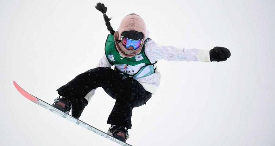 单板滑雪U型场地世界杯崇礼站:中国选手包揽女子冠亚军
