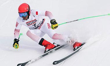 全冬會高山滑雪比賽次日:黑龍江選手包攬兩枚金牌