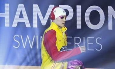 冠軍係列賽北京站孫楊強勢奪得200米自由泳冠軍