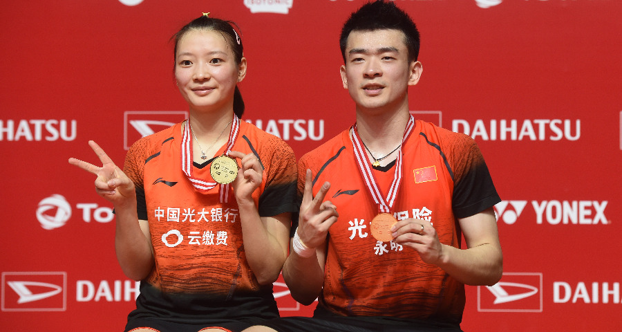 印尼大师赛:郑思维/黄雅琼获混双金牌