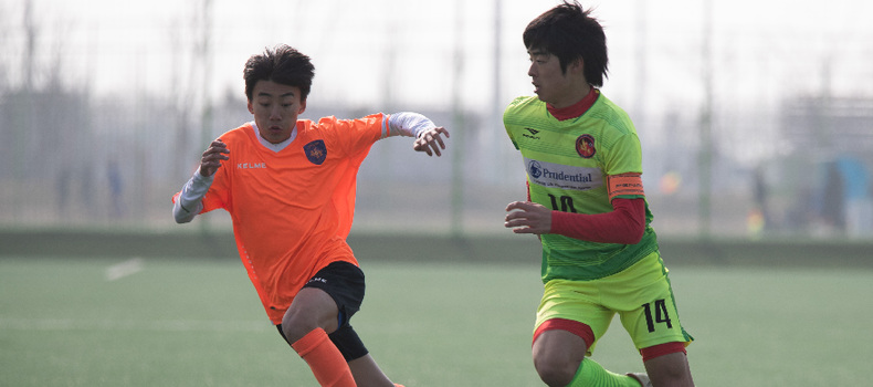 中日韓青少年足球邀請賽賽況