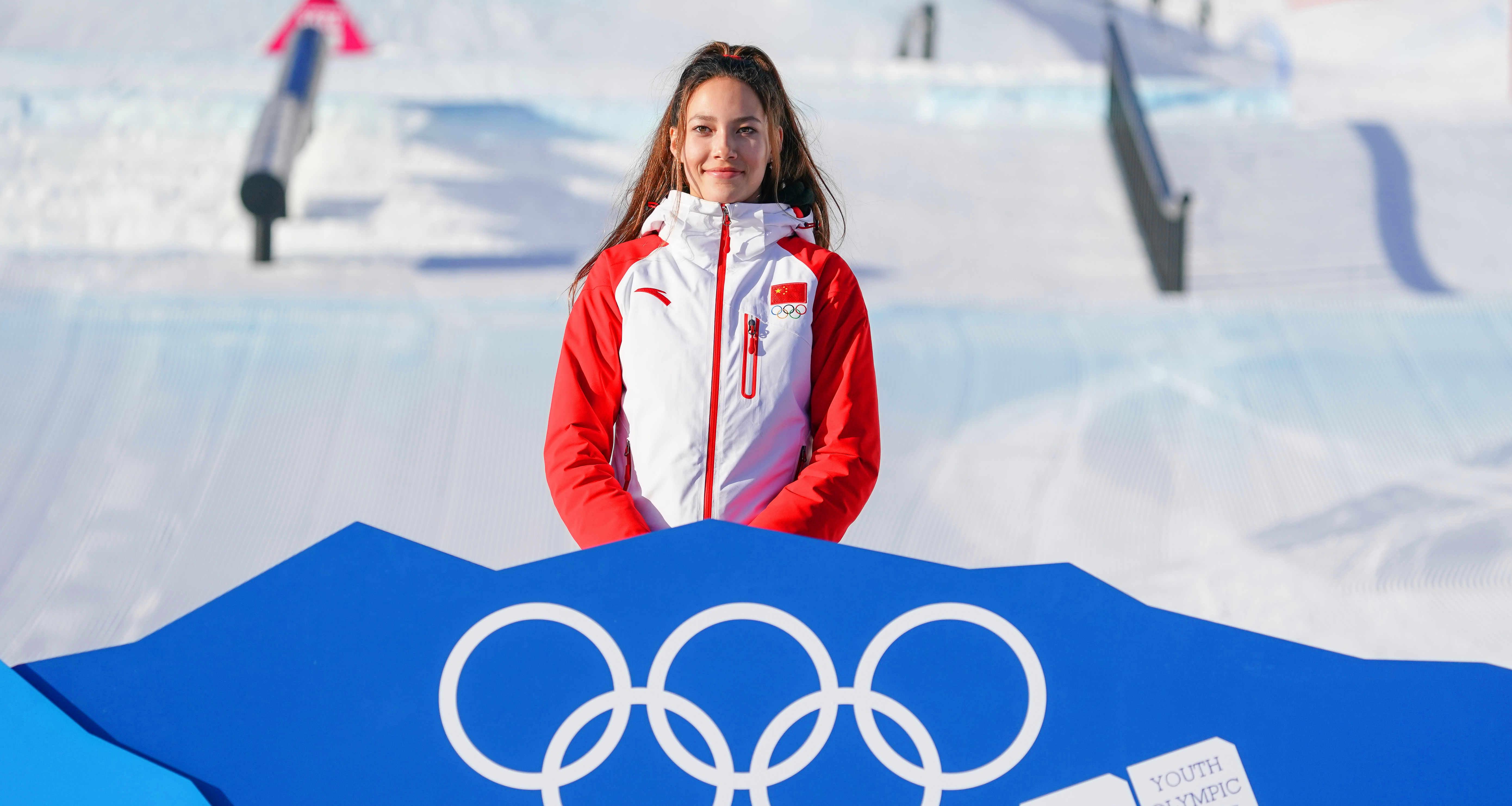 冬青奥会自由式滑雪——女子大跳台:谷爱凌夺冠