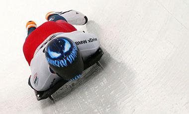 林回央/閆文港鋼架雪車混合團體排名第六 創中國雪車項目世錦賽歷史最佳排名