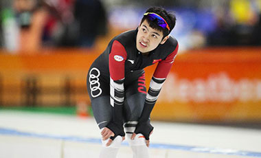 寧忠岩獲得速滑世界杯男子1500米賽季亞軍
