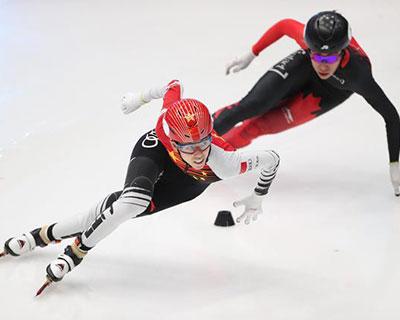 短道速滑模擬世錦賽范可新加冕四冠王