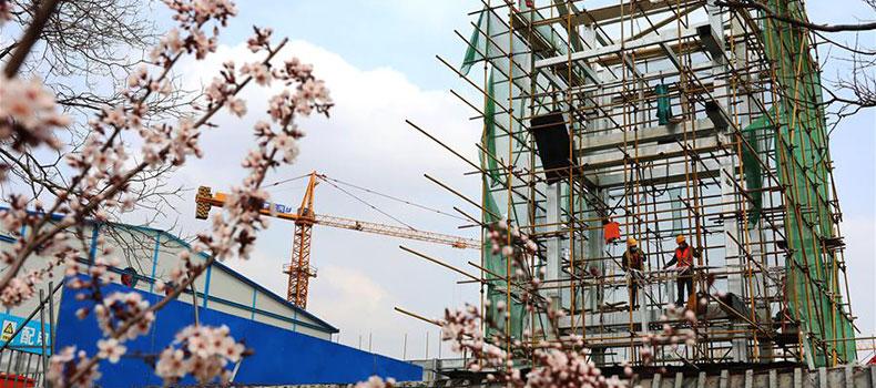 河北張家口:冬奧會非注冊VIP接待中心工程順利推進