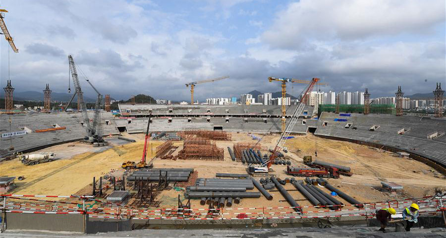 海南三亞:有序推進亞沙會相關設施建設