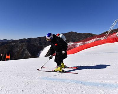 北京冬奧會延慶賽區重點工程將于年底完工