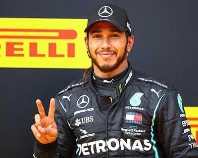 F1施蒂利亞大獎賽漢密爾頓奪冠 梅賽德斯包攬前兩位