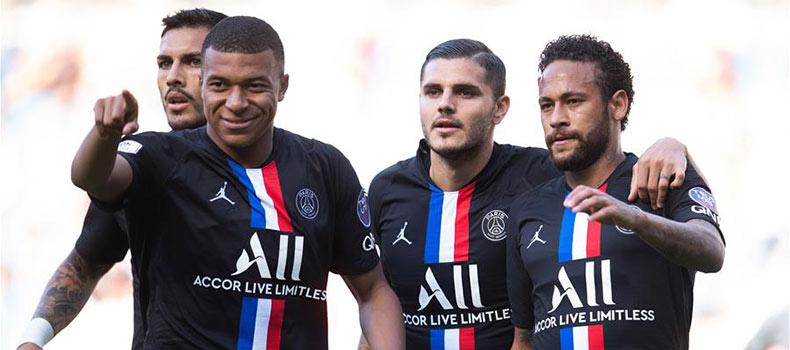 友誼賽:巴黎聖日耳曼勝勒阿弗爾