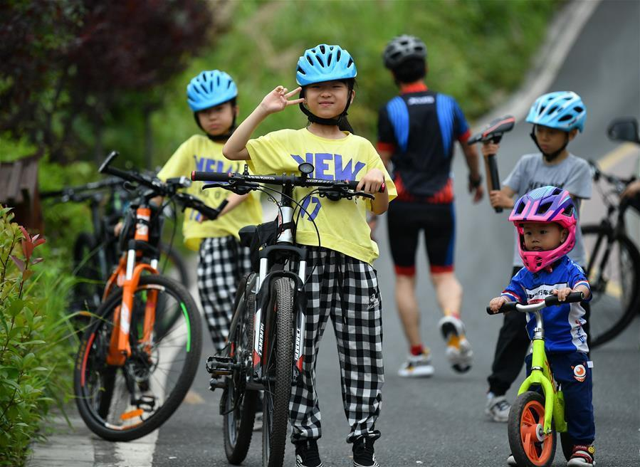 全民健身:巴山深處的騎行樂園