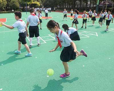 上海:新學期 強體魄