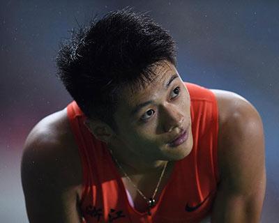 全國田徑錦標賽:謝震業再攬男子200米冠軍