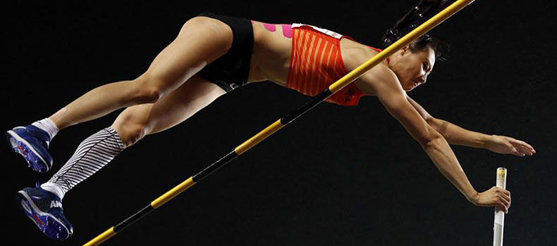 全國錦標賽:女子撐桿跳高決賽賽況
