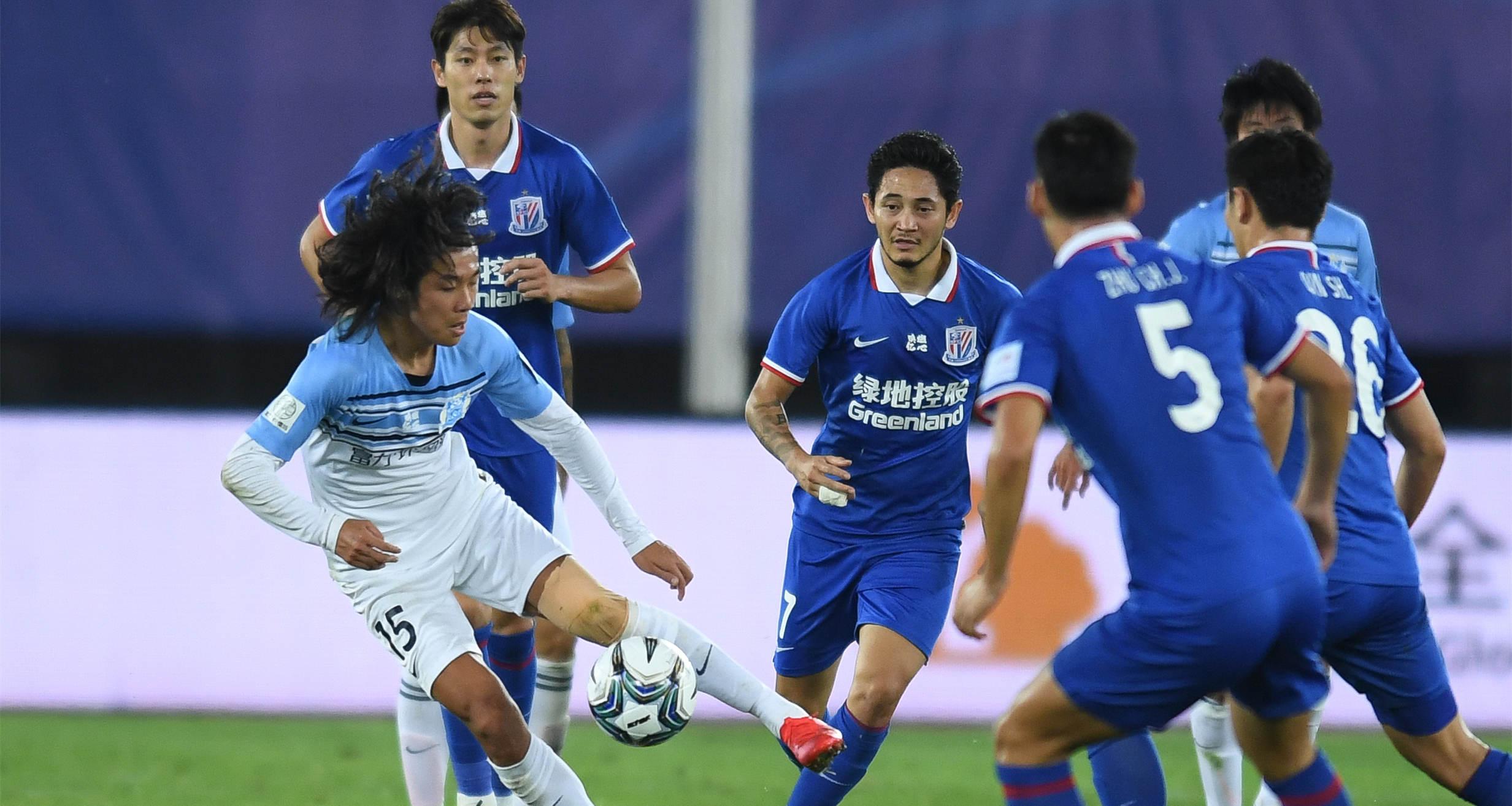 足協杯:廣州富力勝上海綠地申花