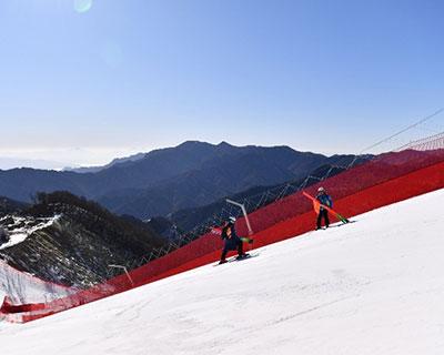 北京冬奧會延慶賽區生態修復工程初見成效