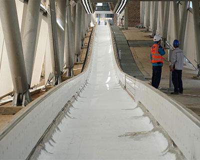 國家雪車雪橇中心將于9月底完成制冰