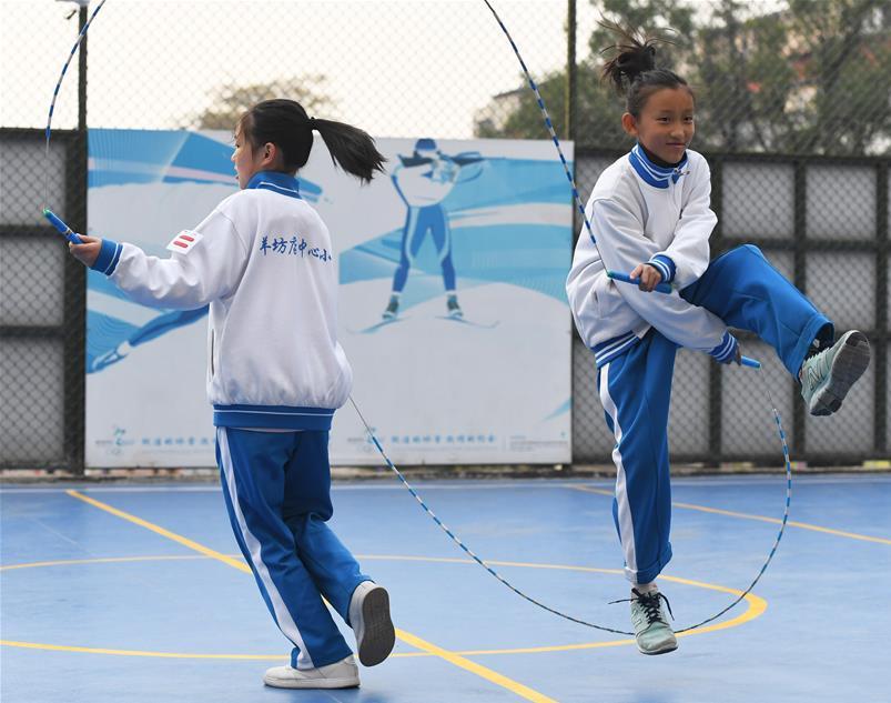 全民健身——繩舞飛揚 躍動精彩