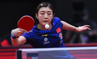 陳夢奪得世界杯女單冠軍