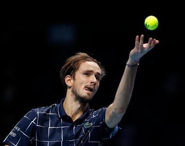 ATP總決賽:梅德韋傑夫、蒂姆會師決賽
