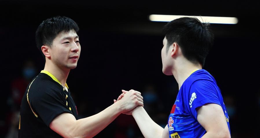 國際乒聯總決賽:馬龍奪冠