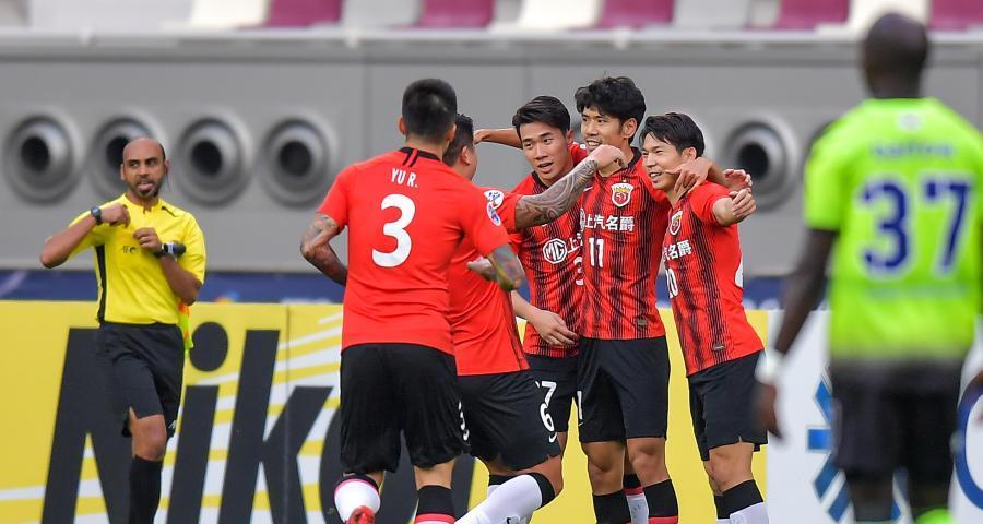 亞冠:上海上港勝全北現代