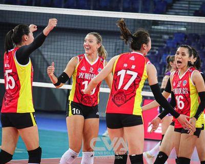 女排聯賽綜合:天津輕取北京繼續佔據榜首