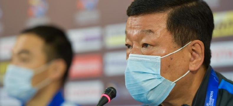亞冠小組賽:上海申花隊舉行賽前新聞發布會