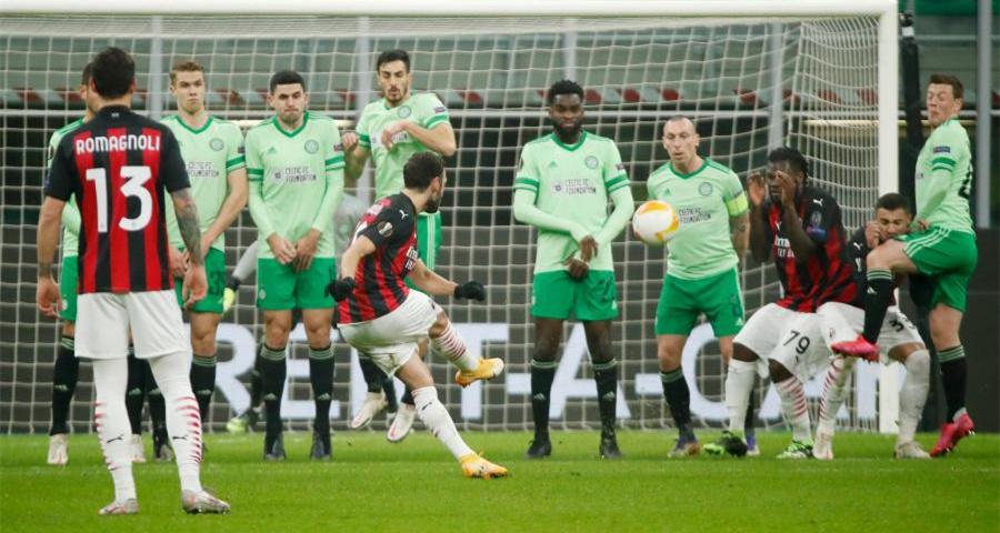 歐羅巴聯賽:AC米蘭勝凱爾特人