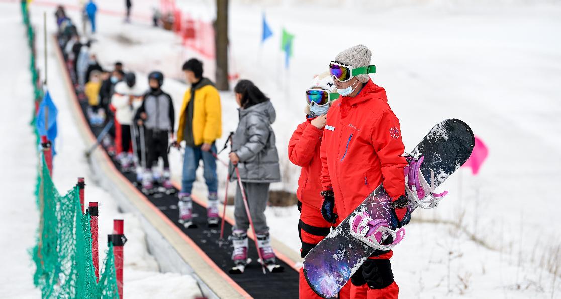 全民健身——大寒節氣 暢享冰雪歡樂
