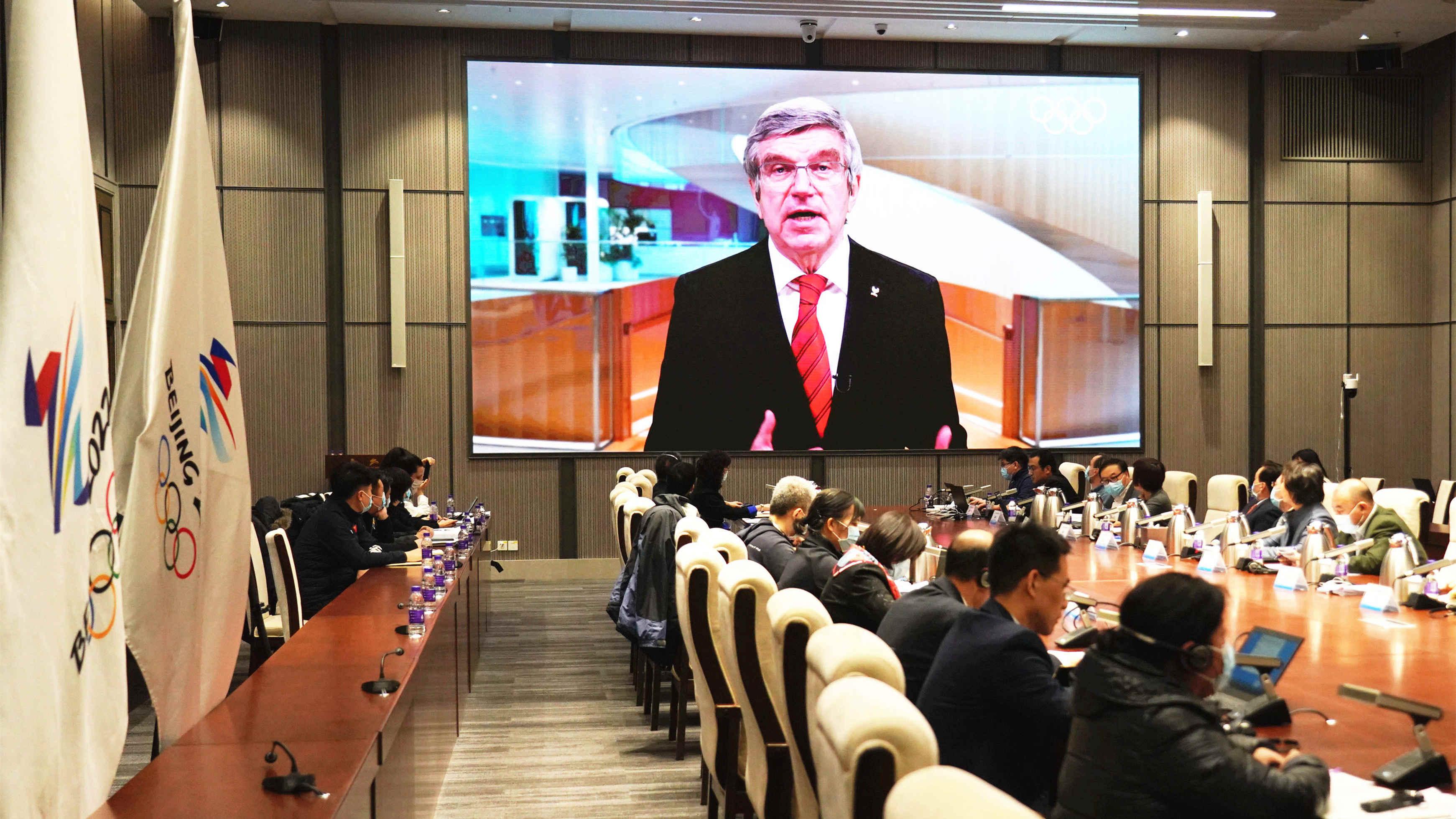 北京2022年冬奧會代表團團長會開幕