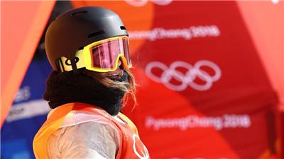 走近冬奧 美國單板滑雪運動員朗蘭:超級期待北京冬奧會