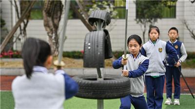 我愛體育課——五行刀法體驗校園武俠人生