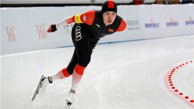 全國速滑錦標賽:沈晗揚、韓梅分獲男、女全能總冠軍