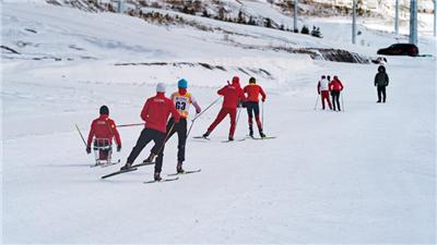 走近冬奧|探訪冬殘奧會國家集訓隊訓練