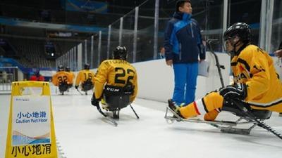 """以有愛之心 創""""無礙""""精彩——冰上測試活動場館打造無障礙體驗"""