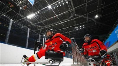 殘奧冰球測試活動圓滿收官 無障礙體驗獲好評