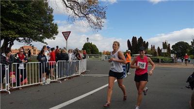 新西蘭舉行羅托魯阿馬拉松