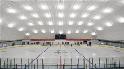 走近冬奧 備戰北京冬殘奧會 北京建成永久性氣膜式冰壺冰球運動館