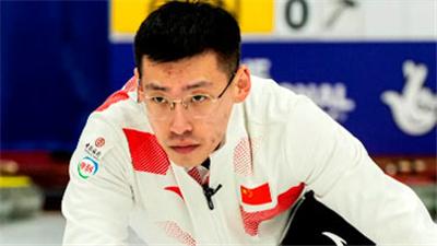 冰壺混雙世錦賽次日中國隊一勝一負