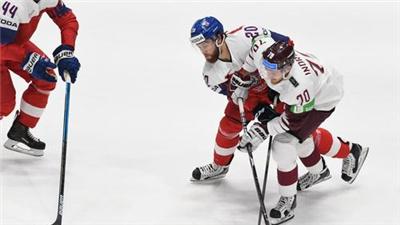 拉脫維亞發行2021冰球世錦賽紀念郵票